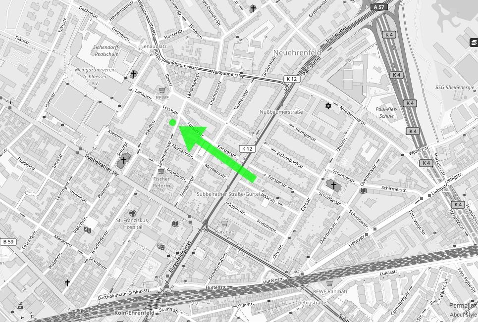 Map Anfahrt