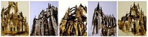 Seria, tecnica mixta sobre maule, 80 x 100 cm 2013, Art Cologne, Kunst, Kölner Dom, Cathedral of Cologne
