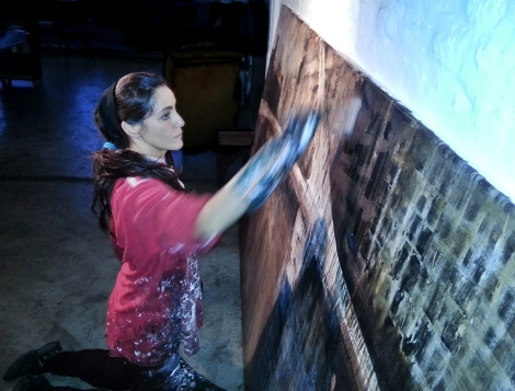 Fernanda Piamonti at work