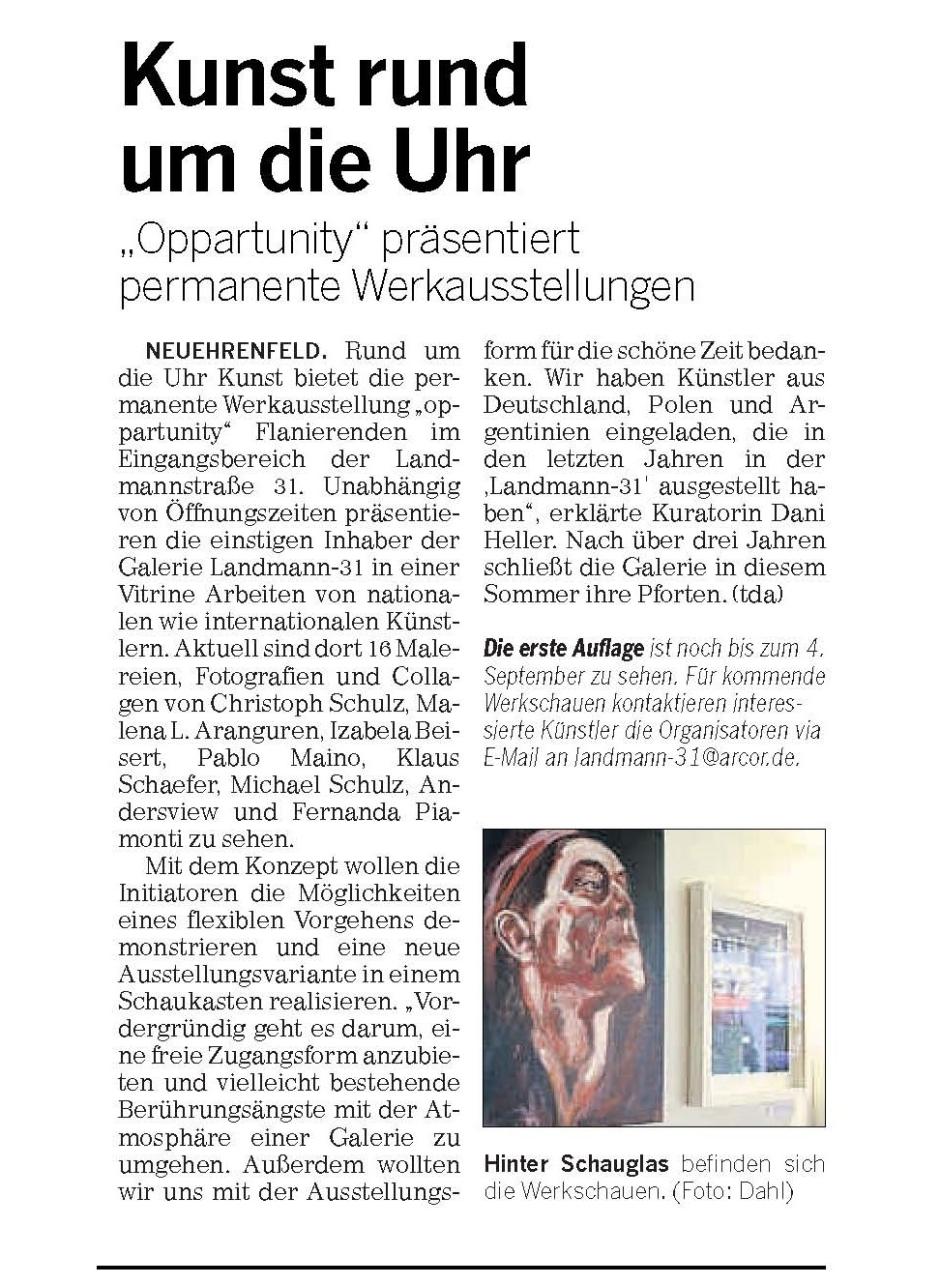 Kölnische Rundschau 18.08.2016