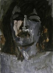 Fernanda Piamonti - Retrato Pop, Mischtechnik auf Karton, 100 x 70cm, 2008