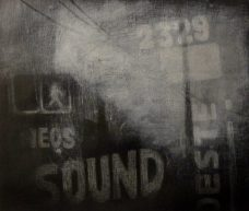 Malena L. Arranguren - URBANO, Mischtechnick auf Leinwand, 30 x 40 cm, 2014