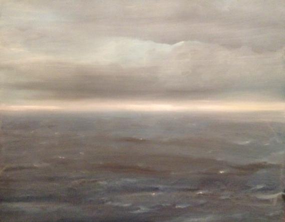 T.M. - Meer III, Öl auf Leinwand, 150x120cm, 2014